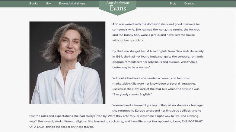 Ann Anderson Evans