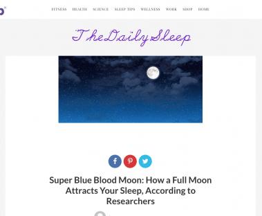 The Daily Sleep